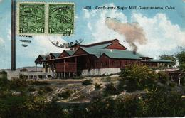 CUBA - CONFLUENTE SUGAR MILL GUANTANAMO - Cartes Postales