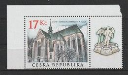 MiNr. 389 Tschechische Republik: Klosterkirche Mariä Himmelfahrt Der Zisterzienserinnen, Brünn. - Tschechische Republik