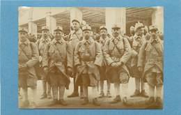 GUERRE 1914/18 - Caserne Mangin Le Mans,réserve Sanitaire En 1915 ( Photo Format 11,1 Cm X 8 Cm). - Guerre, Militaire