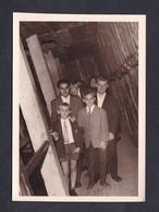 Photo Originale Dinant Belgique Visite De Caves Octobre 1967 - Lieux