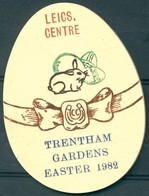 Badge  - Leicestershire Centre - Trentham Gardens - Easter 1982 - Autres Collections