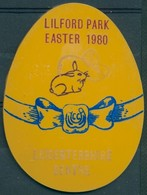 Badge R - Leicestershire Centre - Lilford Park - Easter 1980 - Autres Collections