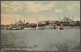 Ministère De La Justice Et Ste Sophie, Constantinople, C.1910s - CPA - Turkey