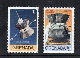 GRENADA - Lotto 2 Francobolli Tematica Spazio - Nuovi - (FDC12056) - Grenada (1974-...)