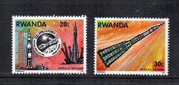 RWANDA - 1976 - Lotto 2 Francobolli Tematica Spazio - Nuovi - (FDC12057) - Rwanda