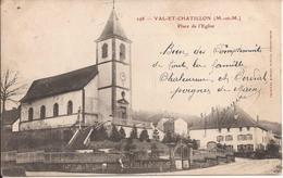 VAL ET CHATILLON PLACE DE L EGLISE - France