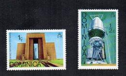 DOMINICA - Lotto 2 Francobolli Tematica Spazio - Nuovi - (FDC12058) - Space
