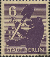 Soviet Zone (Allied.cast.) 2A A Wb X Tested Unmounted Mint / Never Hinged 1945 Berlin Bear - Soviet Zone