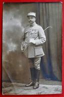 Carte Photo Soldat Du 8 Eme Regiment De Dragons?  Medailles - Guerre 1914-18
