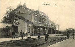 /!\ 8012 - CPA/CPSM - 89 - Toucy-Moulins : La Gare - Toucy