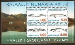 Groenland Greenland 1997 Yvertn° Bloc 13 *** MNH Cote 16,00 Euro Faune - Blocs