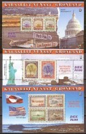 Groenland Greenland  1995 Yvertnr Bloc 6-8 *** MNH Cote 25 Euro - Blocs