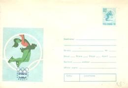 STATIONERY RUMANIA - Invierno 1976: Innsbruck