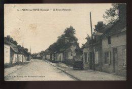 80 - FLERS-SUR-NOYE - LA ROUTE NATIONALE - France