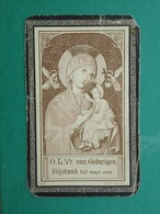 Melania Devos - Lesy Geboren Te Gits 1831 En Overleden   1901    (2scans) - Religion & Esotericism