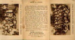Calendrier De Poche 1937 – œuvre Pontificale De La Sainte-enfance - Calendriers