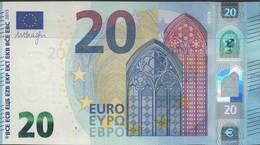 "EURO 20  ITALIA SA S018 I6  ""35"" LAST POSITION  DRAGHI  UNC - EURO"