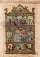 16 - BRIGUEUIL- EGLISE BRIGUEIL- BEAU DOCUMENT BAPTEME AMELIE DEVAUTOUR COMMUNION SOLENNELLE 1911-ABBE CHALOT -MGR ARLET - Historical Documents