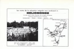 1972 - Iconographie - Saint-Chéron (Essonne) -Le Camping Héliomonde - FRANCO DE PORT - Old Paper
