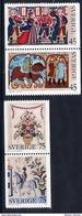 SWEDEN 1973 Christmas  MNH / **.  Michel 828-31 - Sweden