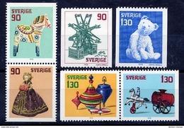 SWEDEN 1978 Christmas MNH / **..  Michel 1045-50 - Sweden