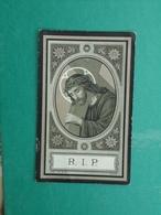 Justine Grosse - Depotte Décédé à Mainvault 1910    (2scans) - Religion & Esotericism