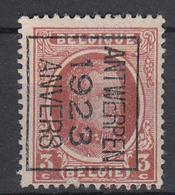 BELGIË - PREO - Nr 77 B - ANTWERPEN 1923 ANVERS - (*) - Préoblitérés