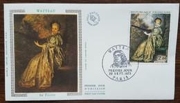 FDC 1973 - YT N°1765 - WATTEAU - PARIS - FDC