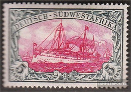 German-Southwest 23 Unmounted Mint / Never Hinged 1900 Ship Imperial Yacht Hohenzollern - Colony: German South West Africa