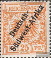 German-Southwest IA Not Spent Unmounted Mint / Never Hinged 1897 Print Edition - Colony: German South West Africa