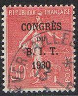 FRANCE : N° 264 Oblitéré (Congrès Du B.I.T.) - PRIX FIXE : 1/3 De La Cote - - France