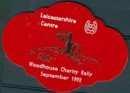 Badge  - Leicestershire Centre - Woodhouse Charity Rally - September 1992 - Autres Collections
