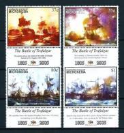 Micronesia  Nº Yvert  1394/7  En Nuevo - Micronesia