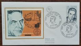 FDC 1975 - YT N°1825 - EDMOND MICHELET - PARIS & BRIVE LA GAILLARDE - 1970-1979