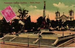 BRESIL -MONUMENTO JULIO DE CASTILHOS PORTO ALEGRE - Brésil