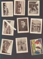 Images - Vache Qui Rit - Fromage - Lot De 9 - Aeroplane Vina, Alcover, Révolver, Bastia, Corte... - Documentos Antiguos
