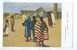 3x Vintage, British East Africa. Printed Art Pc's, Unused. - Postcards