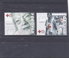 Féroé Neuf **  2001  N° 383/384    75e Anniversaire De La Croix Rouge Des îles Féroé - Féroé (Iles)