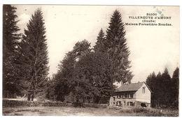 VILLENEUVE D' AMONT (25) - Maison Forestière Rondez - Ed. C. L. B., Besançon - Altri Comuni