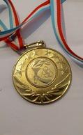 Medaille Luxembourg Schoulsportdaag Challenge 250km 2011 - Tokens & Medals