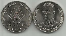 Thailand 10 Baht 1988. Y#223 36th Anniversary Of Crown Prince Low Mintage - Thaïlande
