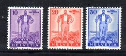 446/1500 - SVIZZERA 1936 ,  Unificato N. 286/288  ***  MNH  Juventute - Suisse