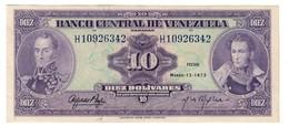 Venezuela 10 Bolivares 10/03/1973 - Venezuela