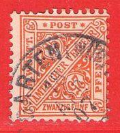 MiNr.210 O Altdeutschland  Württemberg Dienstmarken - Wurttemberg