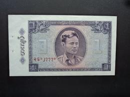 BIRMANIE : 1 KYAT    ND 1965   P 52     SUP+ * - Myanmar