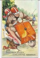 83 PORQUEROLLES - Carte à SYSTEMES - SCOOTER Et POULE - 230918 - Porquerolles