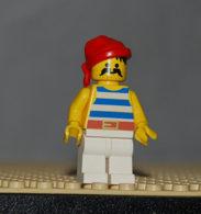 Légo Personnage Pirate Ref Pi073 - Lego Technic