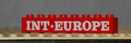 Lego Brique Rouge 1 X 8 Avec Motif Blanc INT-EUROPE Set 123 Ref 3008pb036 - Lego Technic