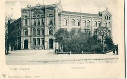 ALLEMAGNE / DEUTSCHLAND - Greifswald : Gymnasium - Greifswald