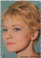 Petit Portrait D'Artiste Promotionnel /Claudine COPPIN / Publistar/ Années 1960   PA199 - Entertainers